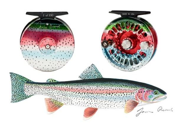 James Posek: Rainbow Trout Super Series Abel Reel