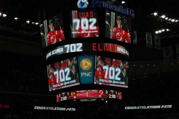 Elias makes history, Devils all time leading Scorer!