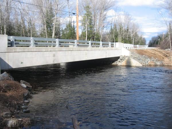 Bridge Over Birch Stream, Alton Maine