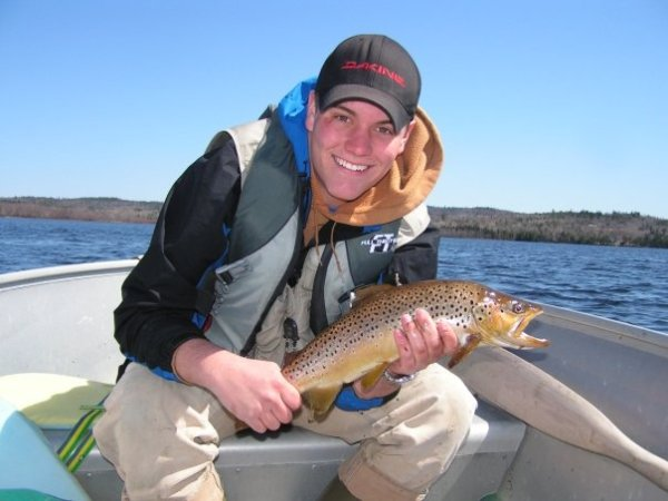 Isaac Mitchell's Big Brown Trout