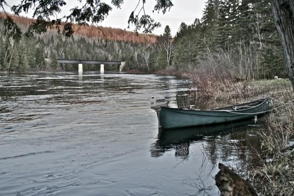 A Fish River Evening