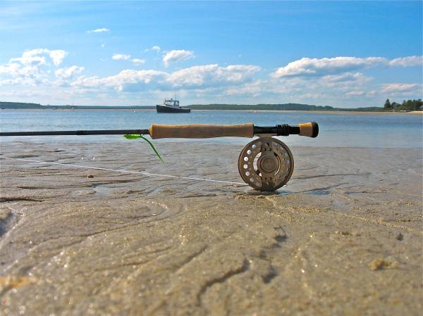 L.L.Bean Orion 9wt Rod+Double L Reel+Ocean Sands and Sunshine=Pure Heaven