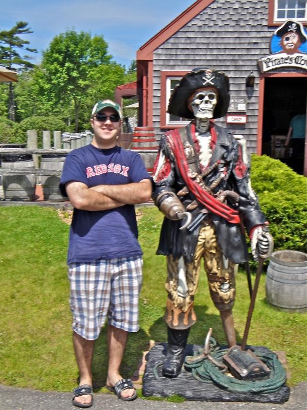 My Buddy Blackbeard and I, Two Mini Golf Legends