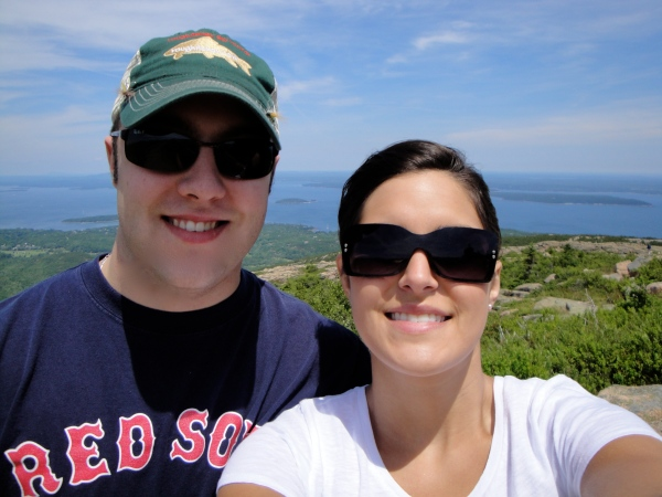 Me and the Lady on Cadillac Mountain