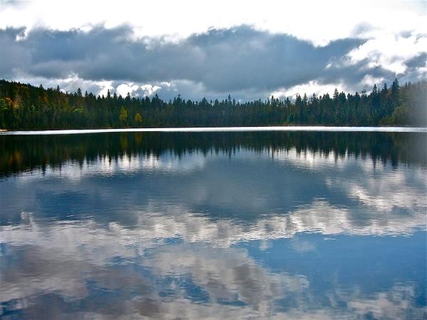A Remote Northern Maine Pond