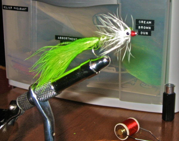 Just a little after dinner Tying!