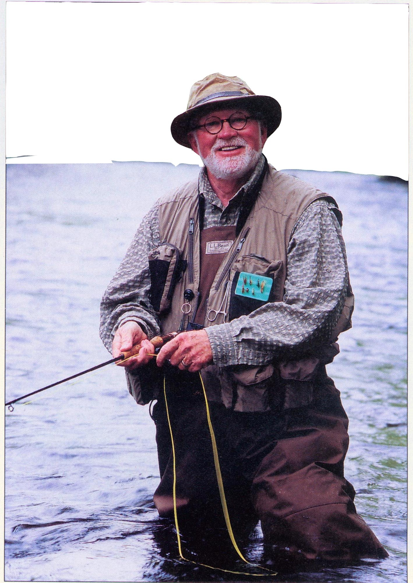 LLBean Fly Casting Instructor Rod McGarry wins Harger Memorial Life Award.