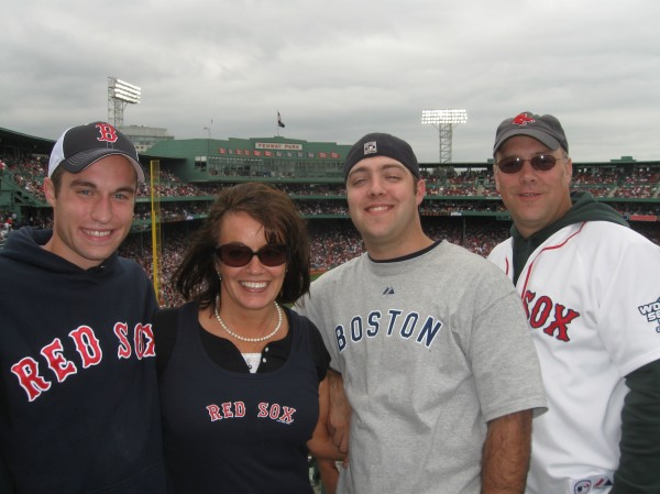 The Family at the Sox