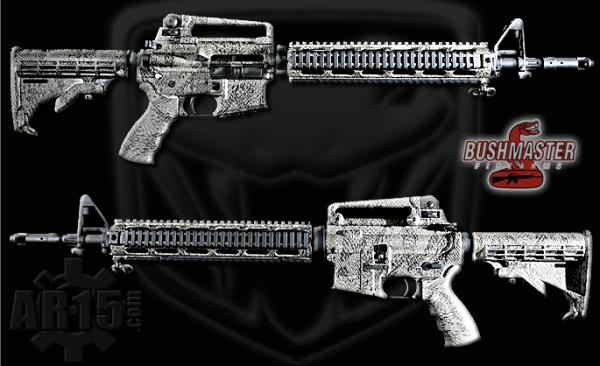 Limited Snake Skin Bushmaster Rifle