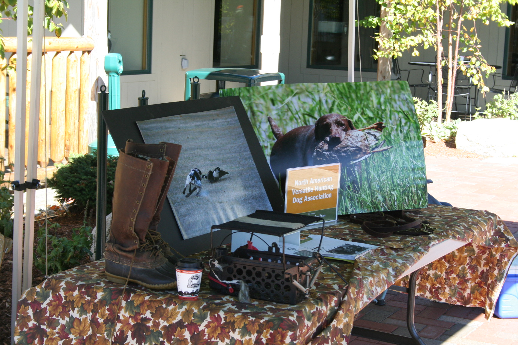 North American Versetile Hunting Dog Association Table